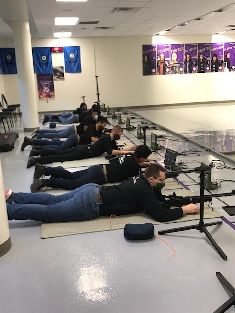 Congratulations to the RHS MJROTC cadets for their participation in the Granbury Marksmanship Competition. Veteran senior shooter Austin Napps qualified for state. Cadets will return to Granbury on February 25 for the  junior Olympics competition.