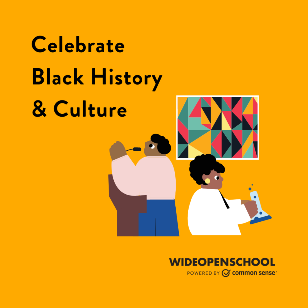 Celebrate the start of Black History Month with this collection of educational activities! Take this time to learn with your kids. http://comsen.se/Wf1E