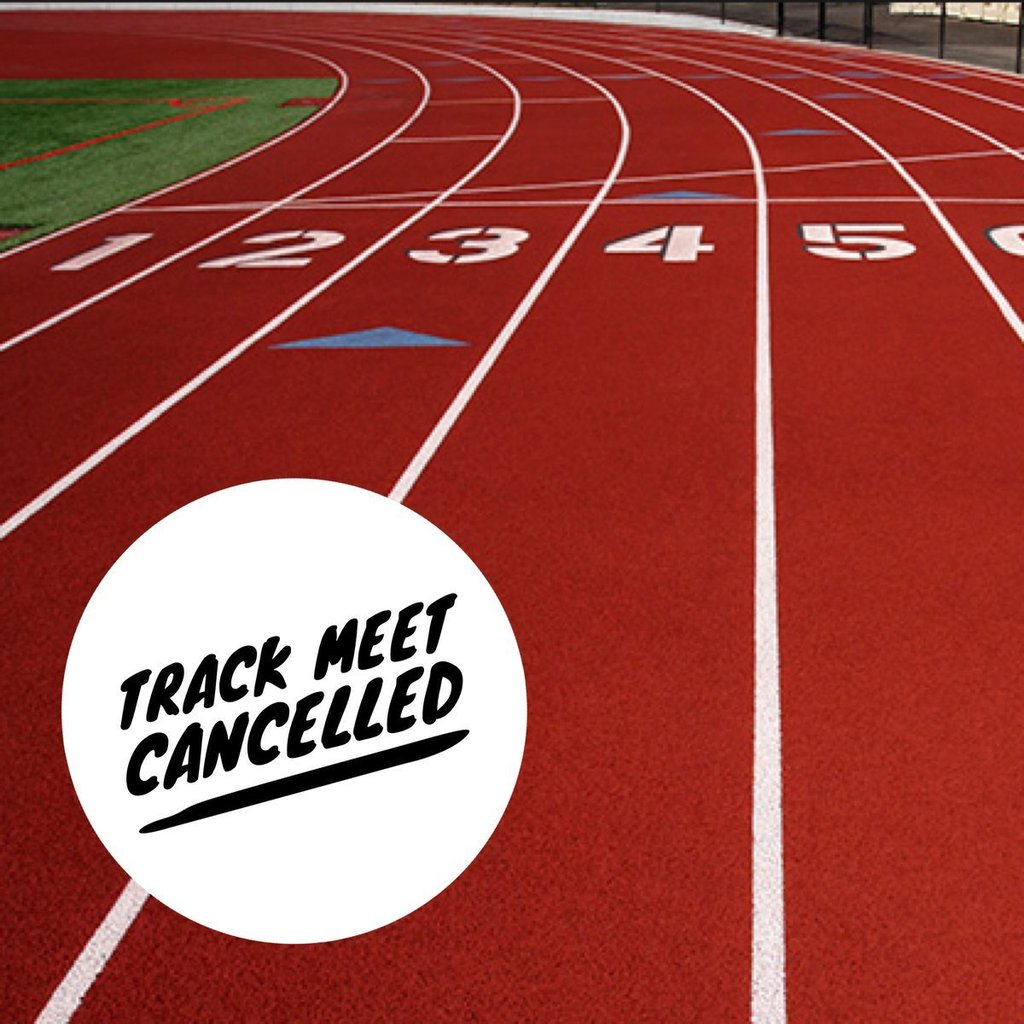 Attention, Falcons! The track meet scheduled for February 18 has been cancelled due to inclement weather. We will post an update if we are able to reschedule the meet.