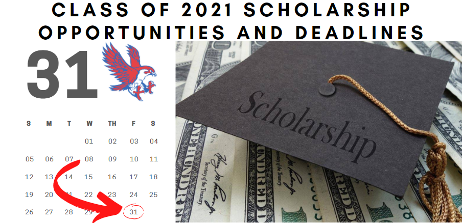Scholarship deadline extended: The application deadline for the Royal ISD Education Foundation Scholarship has been extended to April 9. Please visit https://www.royal-isd.net/o/royal-isd/page/2020-2021-scholarship-opportunities to view a list of scholarship opportunities.