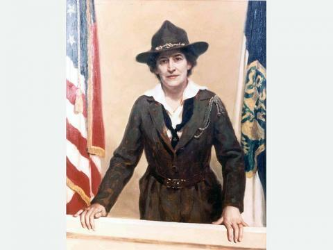 Women's History Month - Juliette Gordon Low assembled 18 girls together in Savannah, Georgia, for the first-ever Girl Scout meeting. https://www.girlscouts.org/en/about-girl-scouts/our-history/juliette-gordon-low.html