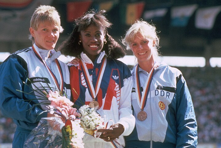 Women's History Month - March 3, 1962 – Jackie Joyner-Kersee, one of the world's greatest female athletes, holds the record in the long jump (1988) and the heptathlon (1986), won 3 gold, 1 silver, and 2 bronze medals in 4 Olympic games. https://www.olympic.org/jackie-joyner