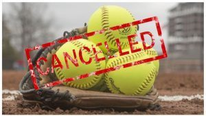 CANCELLED - Today's RHS softball game (Hitchcock at Royal, 5PM) has been cancelled due to the rain.