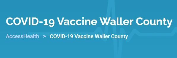 Sharing from City of Brookshire Police Department: Vaccination registration will open up tomorrow 3/3 at 12pm. Visit https://myaccesshealth.org/covidvaccinewaller/ to register.
