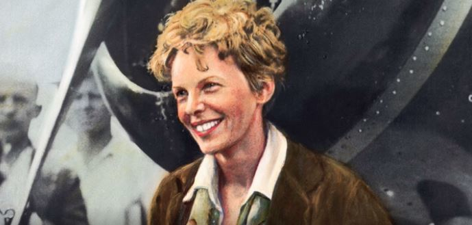 Women's History Month - Amelia Earhart was an American aviator who set many flying records and championed the advancement of women in aviation. https://www.history.com/topics/exploration/amelia-earhart