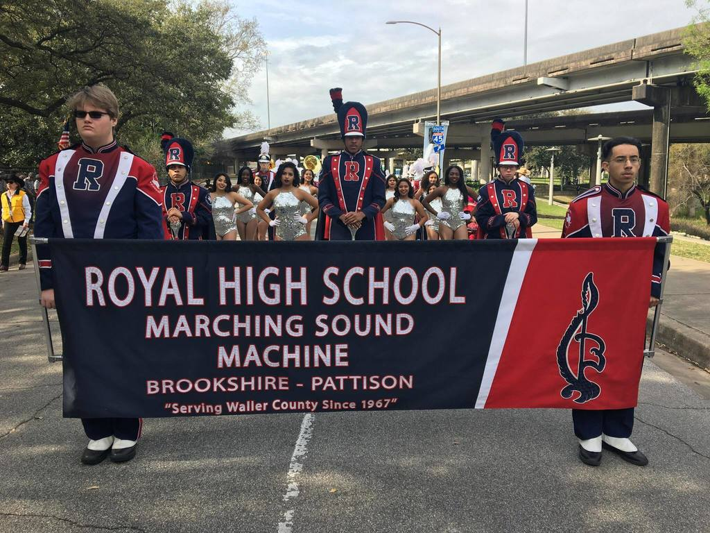 Check out the Royal Marching Sound Machine 2021 spring schedule at the following link: http://bit.ly/2NZ8aMi