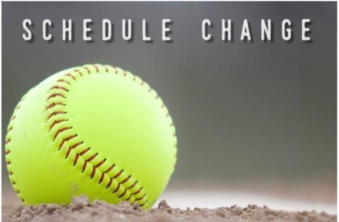 Schedule change! Saturday's (3/27/21) softball game vs. Sealy @ Sealy has been changed to Friday, 3/26/21 at 5 pm in Sealy.