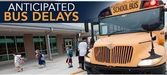 Good afternoon, Falcon parents! Please be aware that due to an accident on I-10, some bus routes may be running behind this afternoon. Have a great evening!