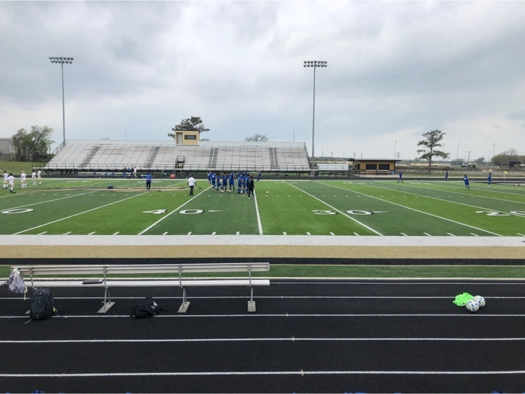 Good luck to our men's Falcon soccer team as they take on Rockdale in today's playoff game!