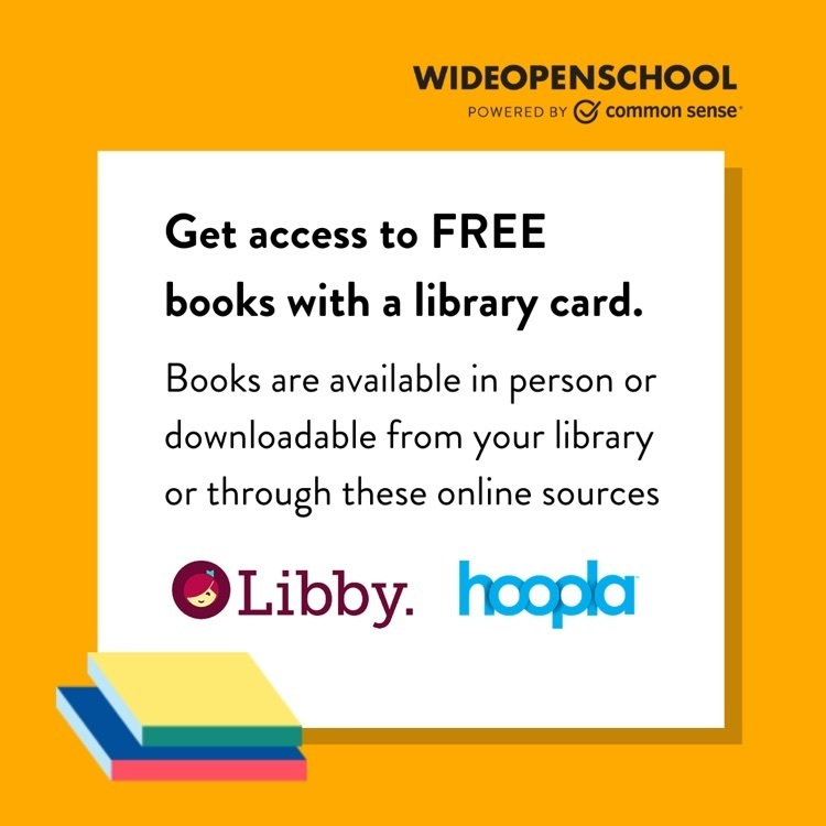 Do you have a library card? You can check out free books, audiobooks, and videos using Libby or Hoopla! 😲 http://comsen.se/Wm29E  📖