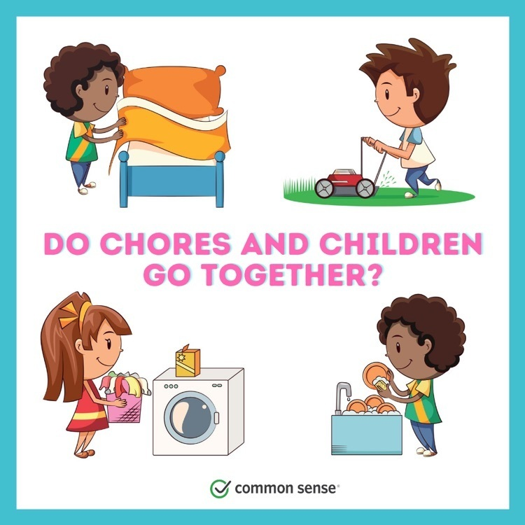 Absolutely! Involve your kiddos in chores around the house to nurture their social-emotional learning and executive function skills. Plus, kids love being a part of the family team.🧼