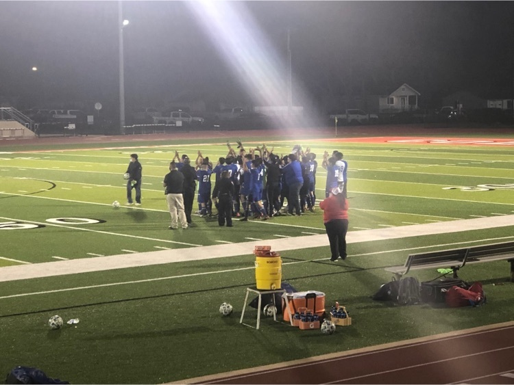 Way to go Falcons! The RHS soccer team had a 2-0 playoff win over Giddings! Continue to follow the Royal website and social media for details on the next game!