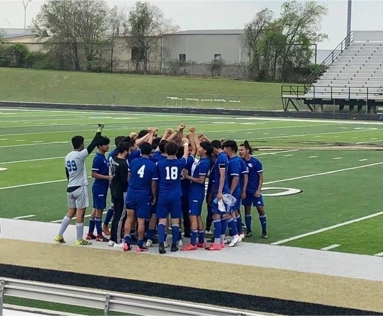Congratulations on another win, RHS men's soccer Falcons! The Falcons will take on Hargrave on Tuesday, April 6 at 7pm at Klein Memorial Stadium (16607 Stuebner Airline Road, Spring TX 77379). #whynotus