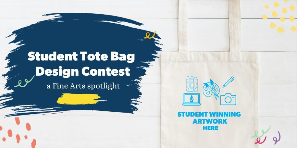 Submit your entries for the Go Public High School Art Tote Contest: High school art students have the opportunity to submit art that will be featured on tote bags. A $250 scholarship and other prizes will be awarded. Visit https://bit.ly/3a41BzU for details. Good luck!