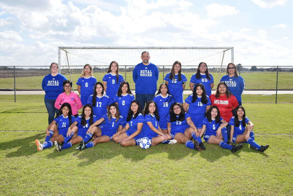 2020-2021 Girls Varsity Soccer Team!