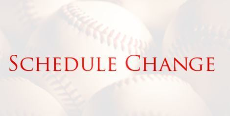Important Baseball Update: The Saturday 4/16 baseball game versus Sealy has been rescheduled to 5:00 PM on Monday 4/19/2021 at Royal.