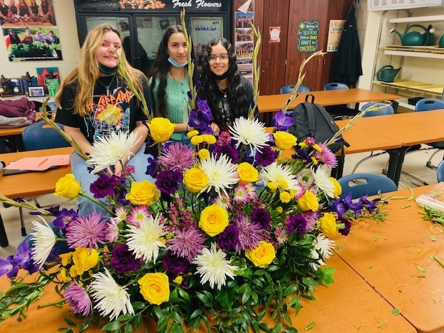 Another beautiful creation from the Falcon Advanced Floral Design students!