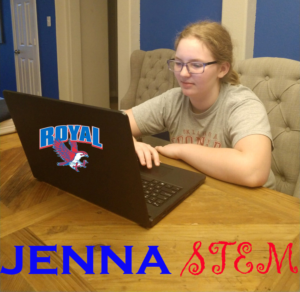 Jenna from STEM, learning@home!