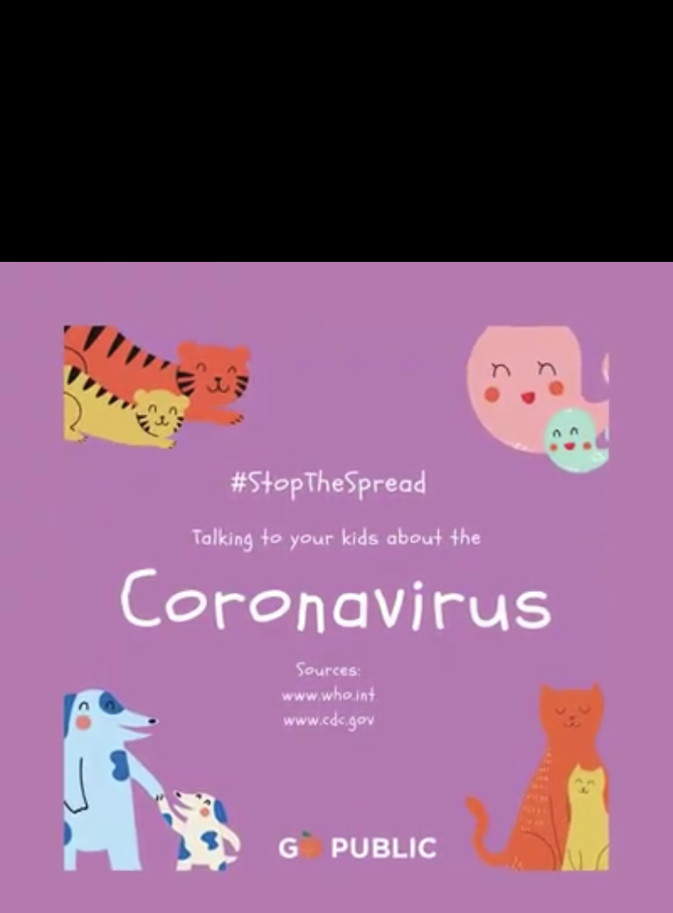 Talking to your kids about Coronavirus