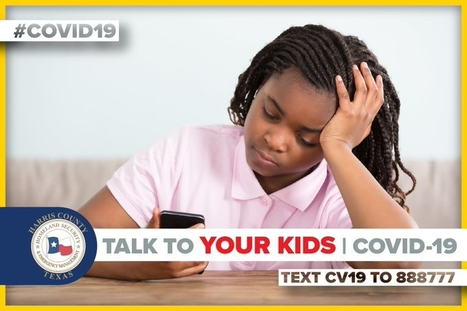 Office of Homeland Security & Emergency Management: Know what your kids are watching and listening to about #coronavirus. Help them process what they're seeing and make sure they disconnect. More tips on talking #COVID19 with your kids: https://bit.ly/2UbuEc0
