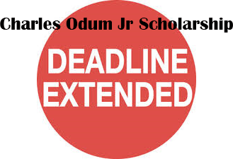 The application deadline has been extended to 4/30/2020 for the Charles Odum Jr Scholarship (The application is available at https://5il.co/efp7.). Please submit completed applications via email to larayodum@gmail.com.