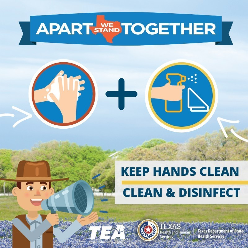 o	Did you know that washing your hands with soap & water eliminates #Coronavirus molecules preventing the virus from infecting you & others? The same is true when you disinfect surfaces. Science says it works. https://bit.ly/2w7TGAJ #COVID19 #txed #StayWellTexas