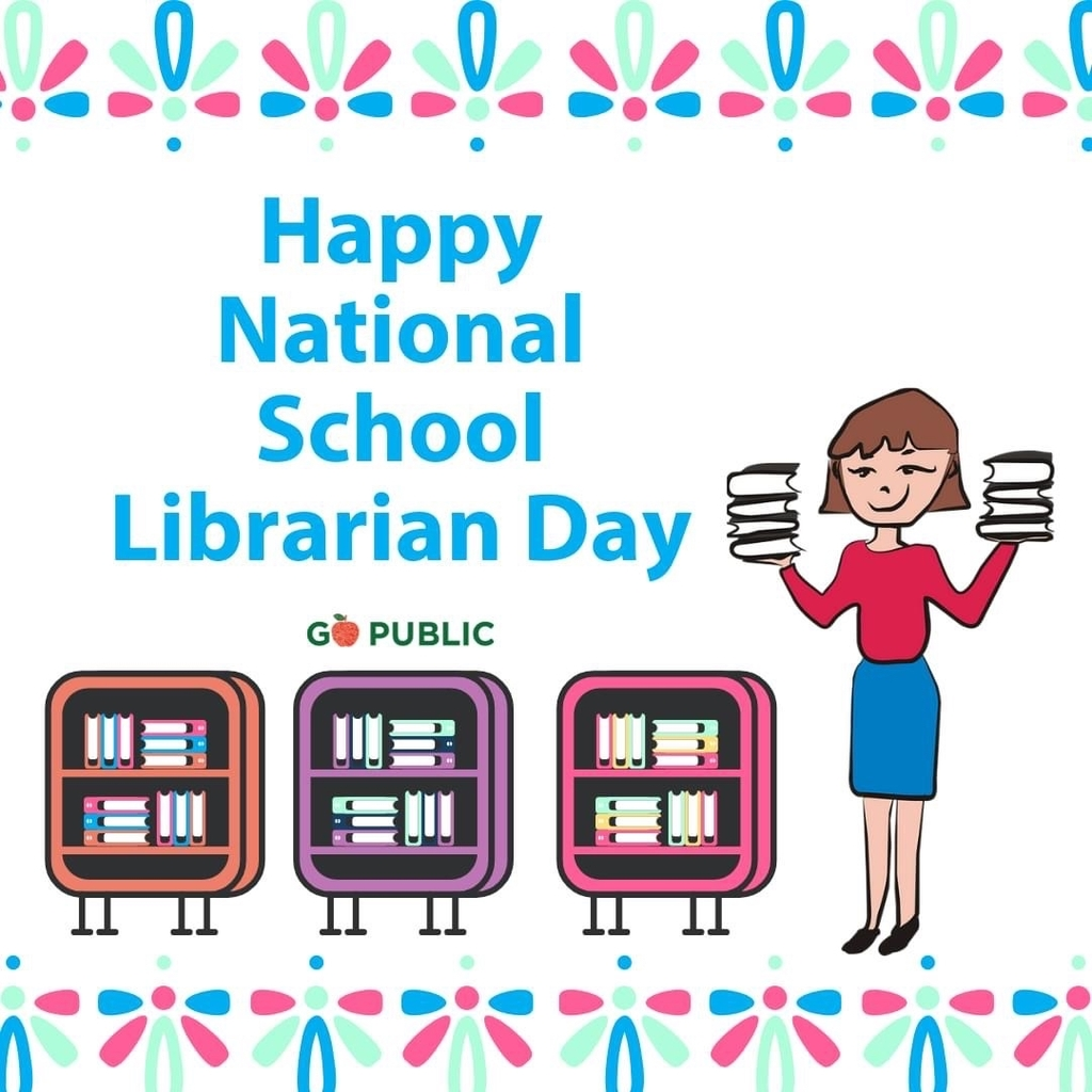 Happy National Librarian Day! @wegopublic