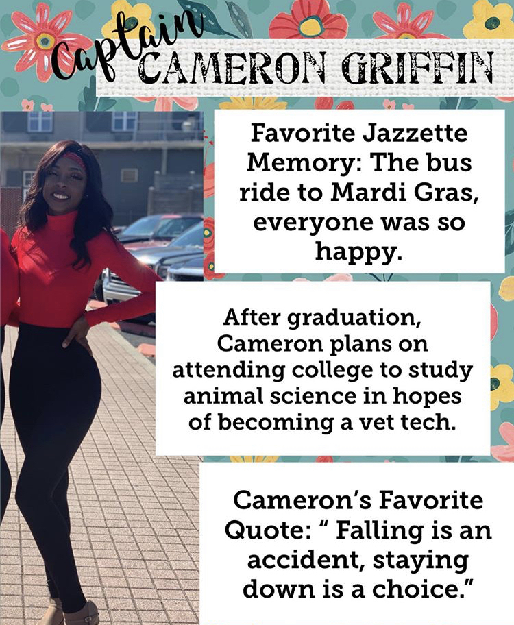 Jazzette Senior Spotlight