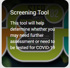 If you are experiencing symptoms of COVID-19, please complete the Harris County/Houston Coronavirus Disease self-assessment tool to determine next steps. CheckForCorona.com.