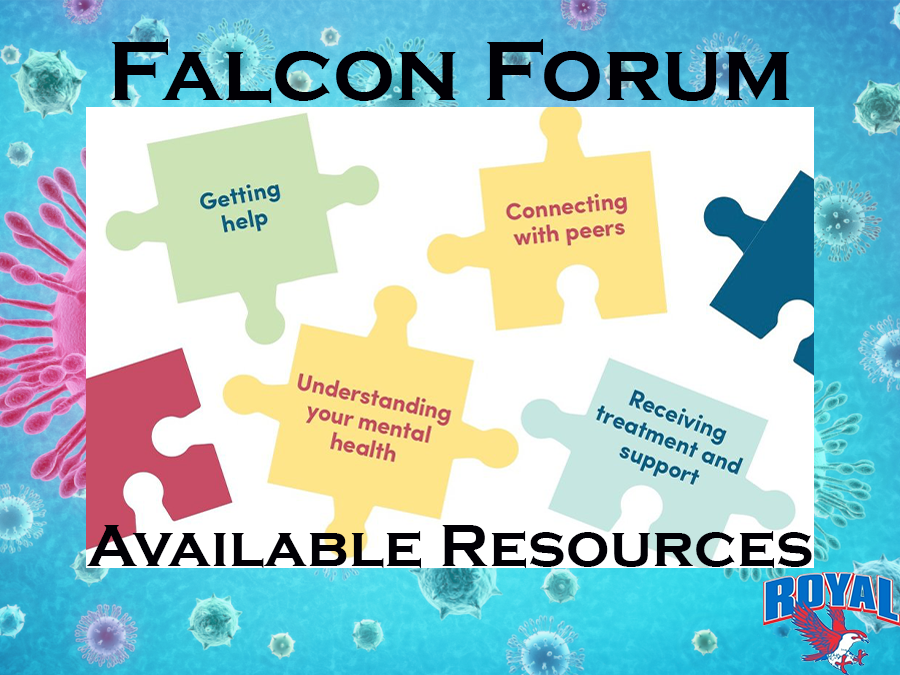 Welcome to Falcon Forum! This series is designed to help the Royal community navigate virtual learning. To view a series introduction, please visit https://www.royal-isd.net/article/235107?org=royal-isd