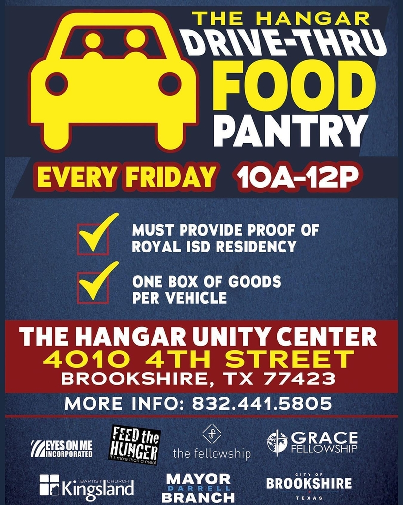 Hangar food drive thru