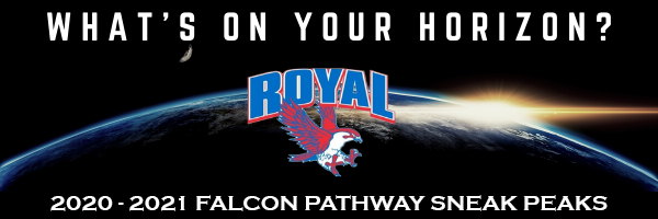 "Good morning, Falcons! ""Choose Your Future"" course selections begin today! Visit https://www.royal-isd.net/o/royal-isd/page/2020-2021-course-selections to get started!"
