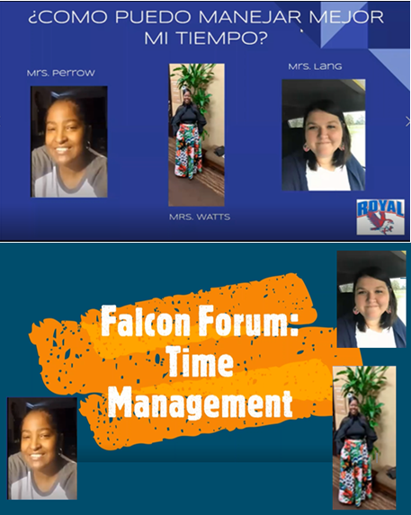 Check out the new RISD Time Management episode of Falcon Forum! English: https://youtu.be/7NQxx4GE3dA and Spanish: https://youtu.be/tsecvo-wmQ0