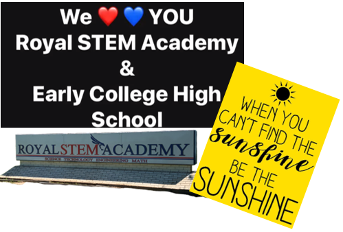 Staff Message to our STEM/ECHS Falcons: https://www.facebook.com/722026261208801/posts/2861062210638518/?vh=e   WE MISS YOU!!!