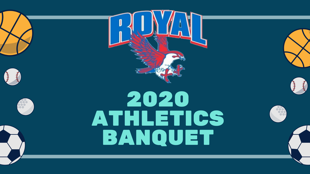 Attention RHS Athletes! We will hold our 2020 Athletic Banquet via Zoom tonight at 6:00PM as a Zoom meeting: https://us02web.zoom.us/j/83194162753