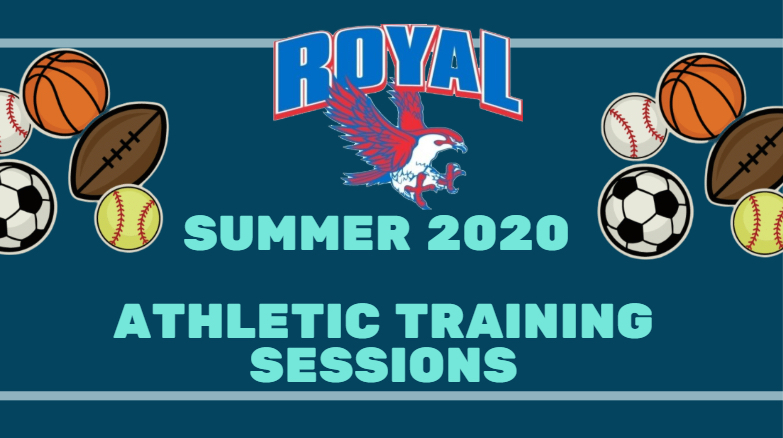 Summer 2020 athletic training sessions