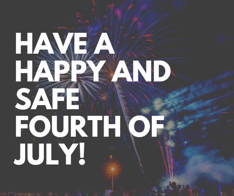 Reminder! Royal ISD will be closed from June 29 through July 3. The Falcon Drive-Thru Meal Distribution will be closed on those days as well.  Wishing you a happy and safe Fourth of July!