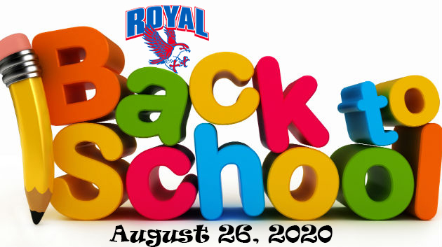"Please visit the ""2020-2021 School Year"" on the RISD website for information on the upcoming year. If you have not already selected your child's learning option, please do so ASAP. For assistance, please email your child's name and student ID to falconstrong@royal-isd.net."