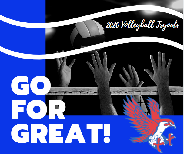 Attention Royal Junior High 7th & 8th graders and High School Falcons interested in trying out for volleyball. Please visit https://5il.co/ke7w to learn about Skills, Strength, and Conditioning sessions, tryout details, required forms, and more. Good luck!