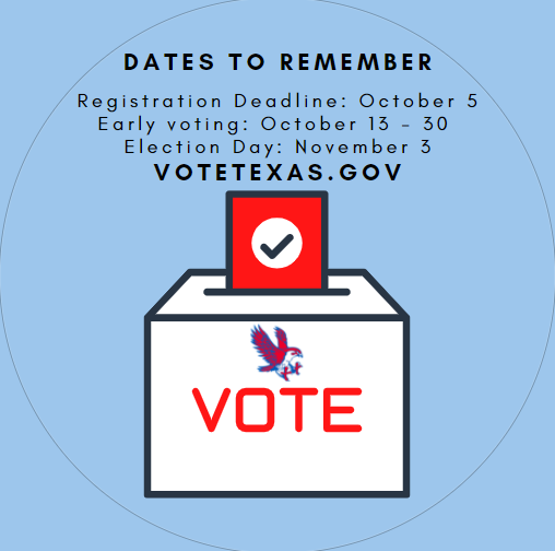 The Katy Times article about the RISD November 2020 Bond Election is available at https://bit.ly/2FMioLy. Have you registered to vote? Visit votetexas.gov to register, find your polling place, see what's on the ballot, and more! Your vote is your voice!